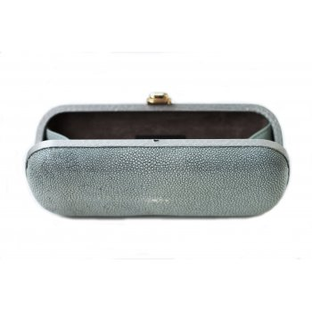 "Extra-Extra.London Stingray clutch  ""Silver Shadow"""