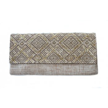 "Extra-Extra.London Clutch "" Ocean sand"""
