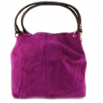 Extra-Extra.London Suede Handbag