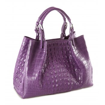 Extra-Extra.London Nile Crocodile handbag by Extra-Extra.London