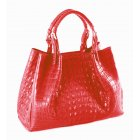 Nile crocodile handbag by Extra-Extra.London